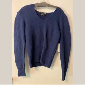Something Navy Small Sweater